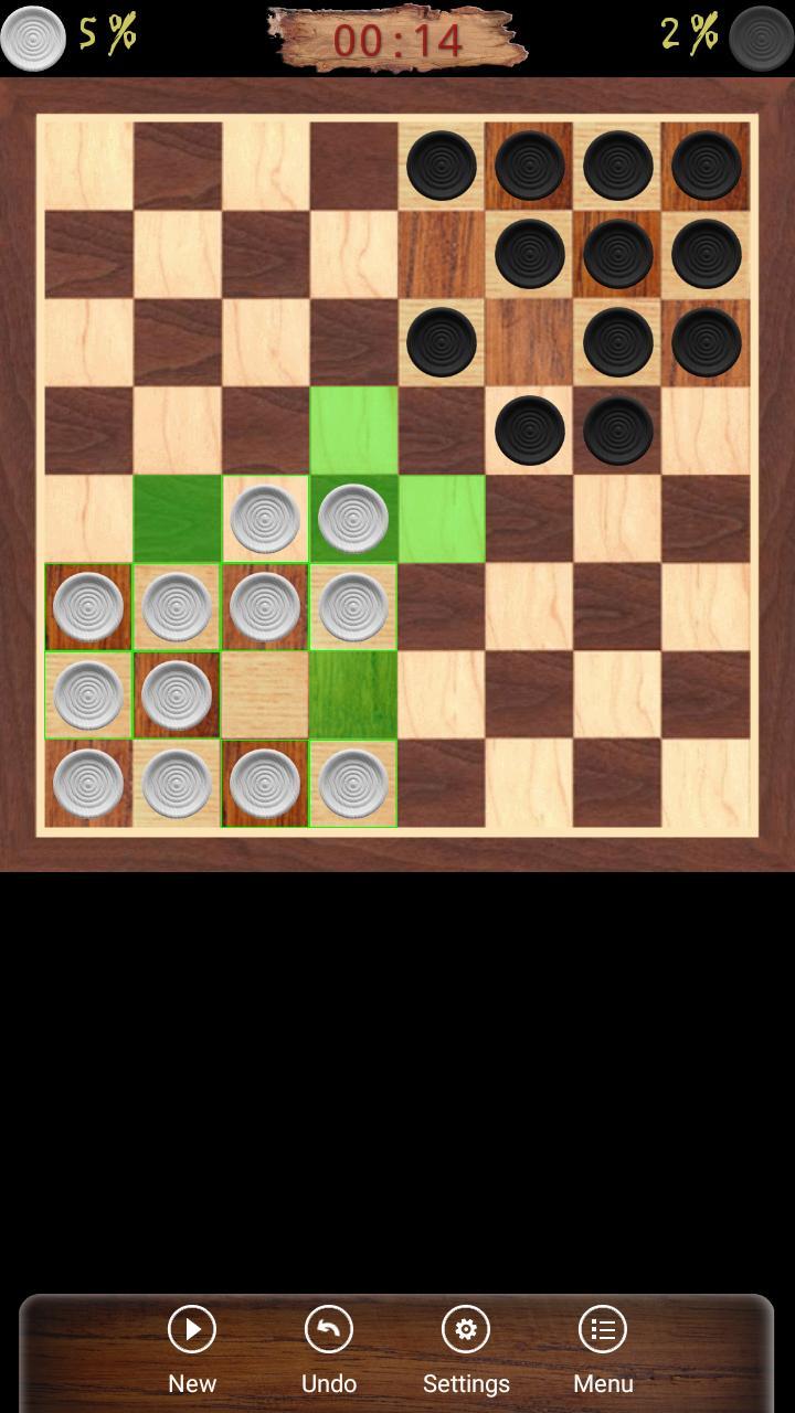 Ugolki - Checkers - Dama 10.5.0 Screenshot 1