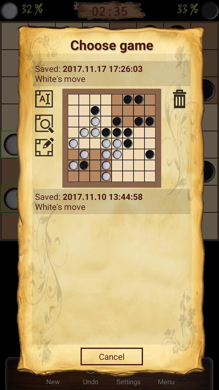 Ugolki - Checkers - Dama 10.5.0 Screenshot 2