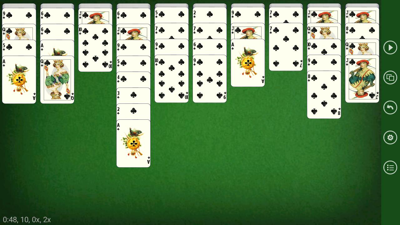 Russian Spider - Solitaire 5.5.2 Screenshot 2
