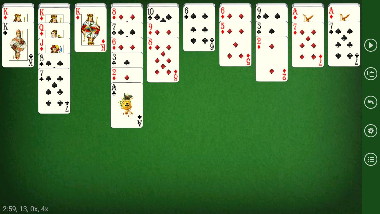 Russian Spider - Solitaire 5.5.2 Screenshot 4