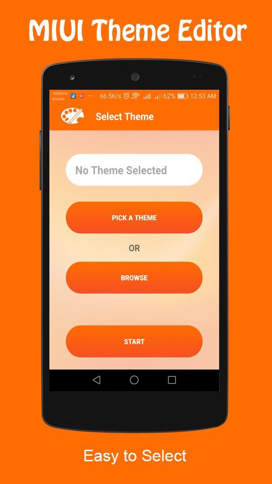 Theme Editor For MIUI 1.7.3 Screenshot 2