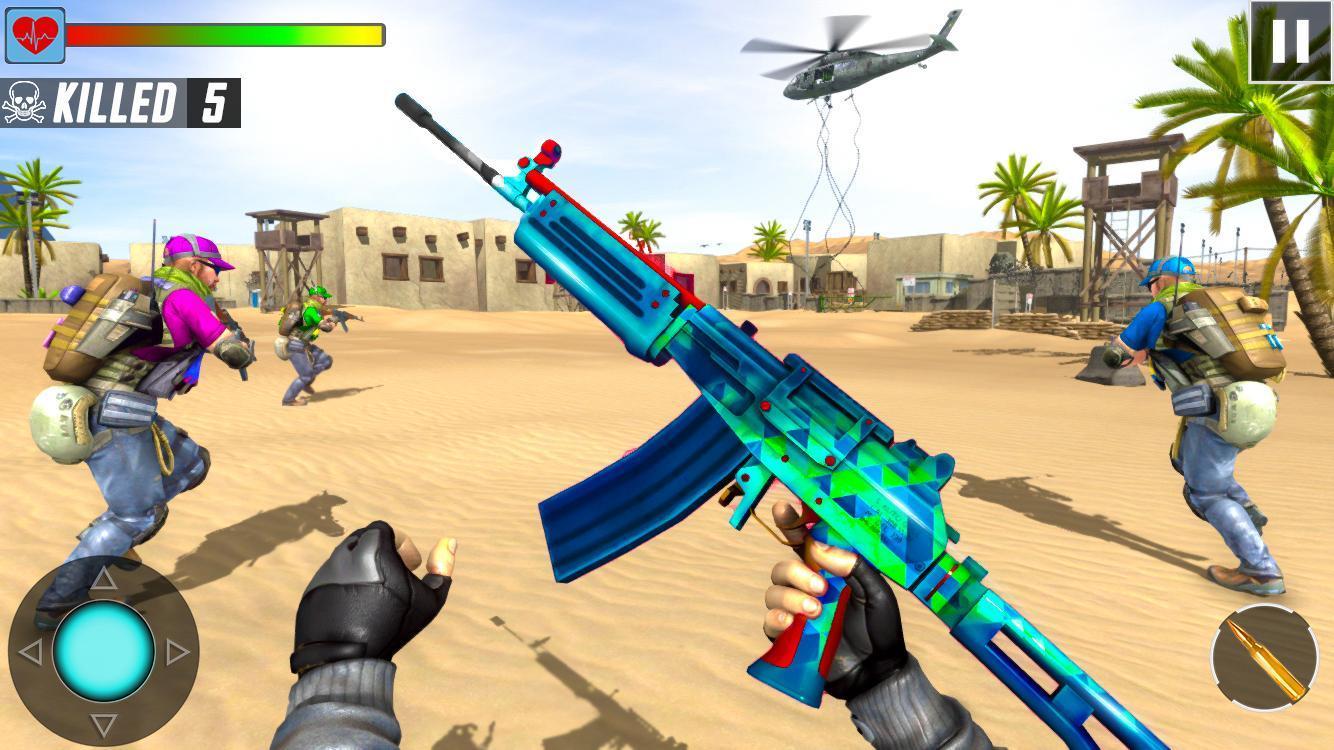 Fps Shooting Strike - Counter Terrorist Game 2019 1.0.24 Screenshot 1