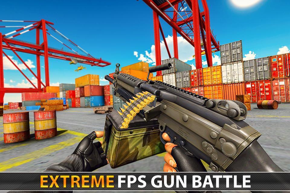 Police Counter Terrorist Shooting - FPS Strike War 2.9 Screenshot 1