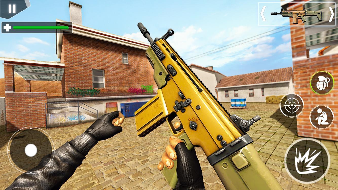Police Counter Terrorist Shooting - FPS Strike War 2.9 Screenshot 10