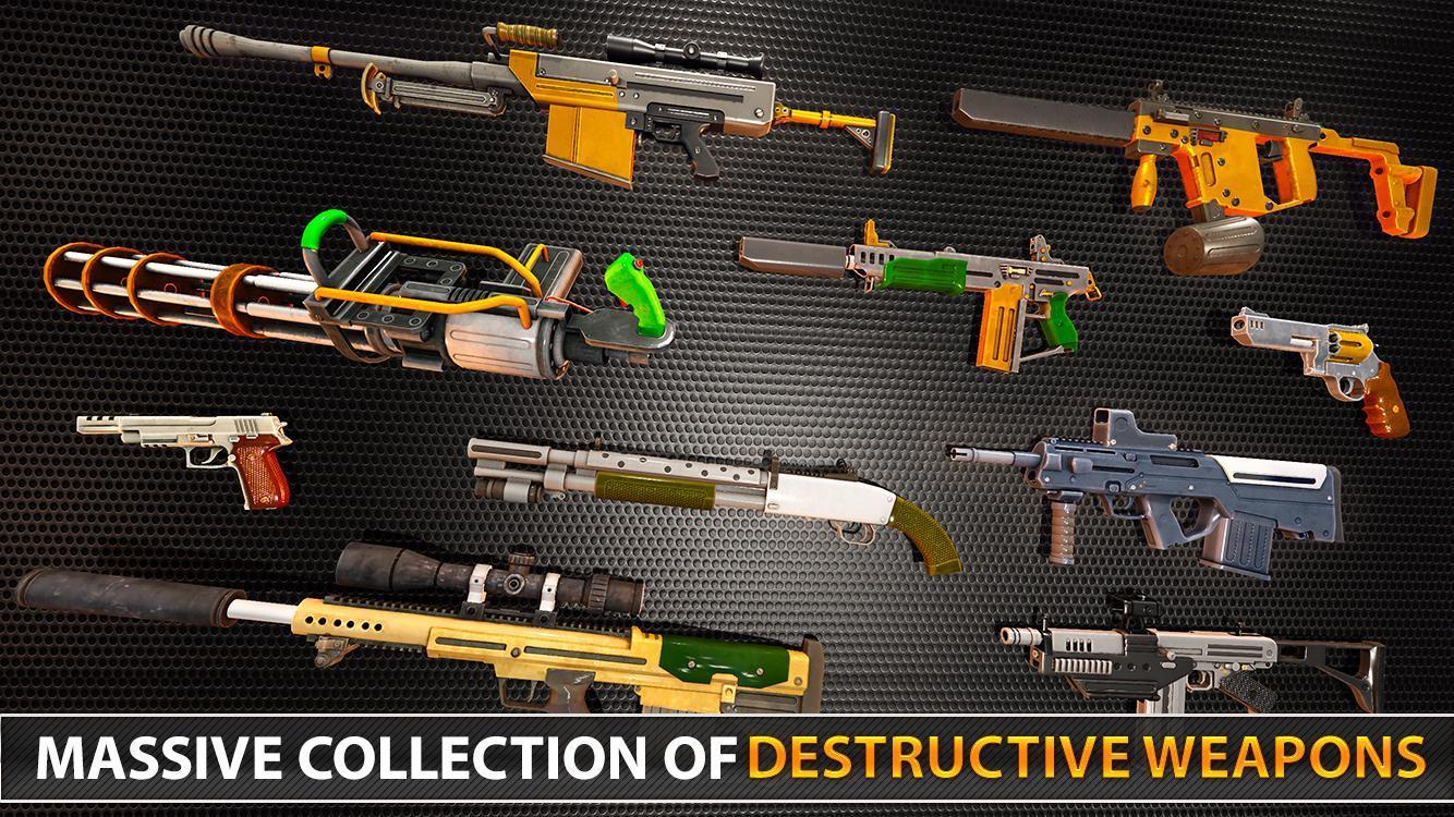 Police Counter Terrorist Shooting - FPS Strike War 2.9 Screenshot 11