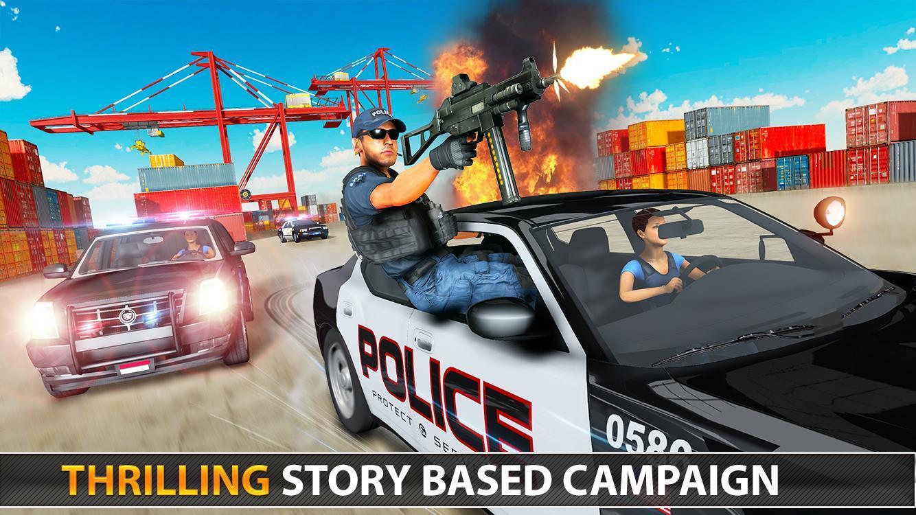Police Counter Terrorist Shooting - FPS Strike War 2.9 Screenshot 13