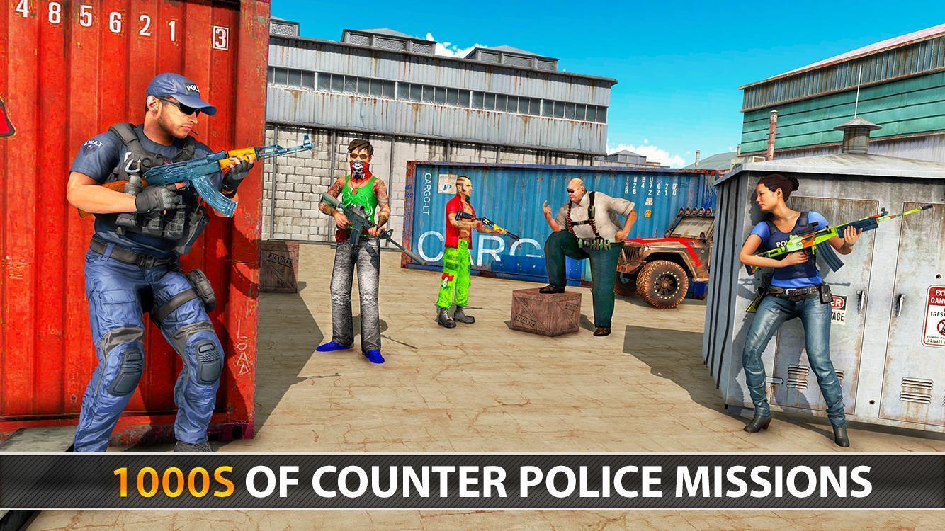 Police Counter Terrorist Shooting - FPS Strike War 2.9 Screenshot 14