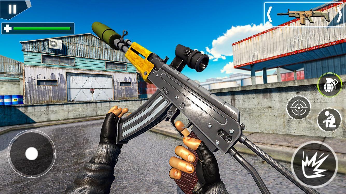 Police Counter Terrorist Shooting - FPS Strike War 2.9 Screenshot 15
