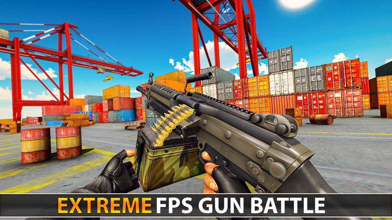 Police Counter Terrorist Shooting - FPS Strike War 2.9 Screenshot 17