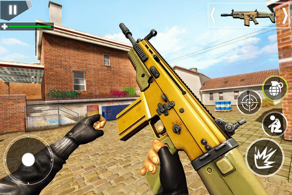Police Counter Terrorist Shooting - FPS Strike War 2.9 Screenshot 2