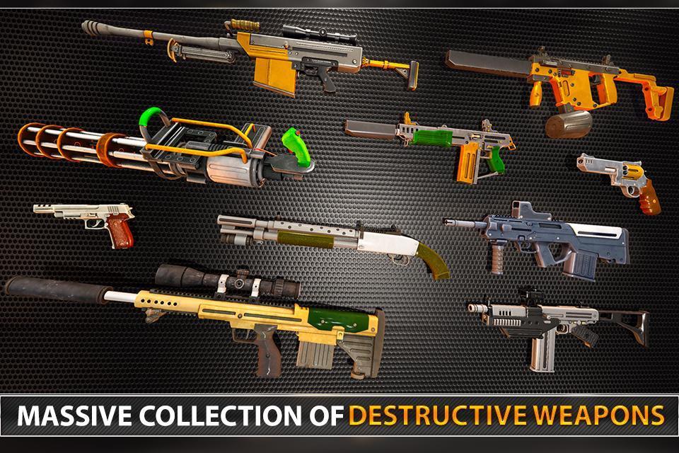Police Counter Terrorist Shooting - FPS Strike War 2.9 Screenshot 3