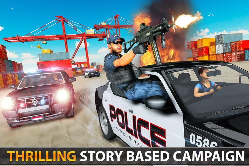Police Counter Terrorist Shooting - FPS Strike War 2.9 Screenshot 5