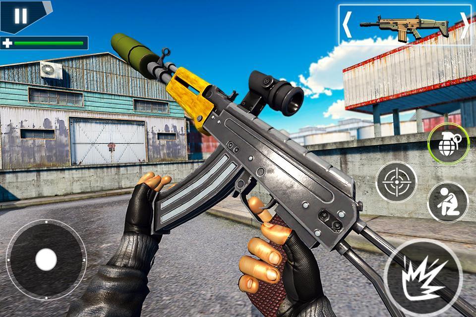 Police Counter Terrorist Shooting - FPS Strike War 2.9 Screenshot 8