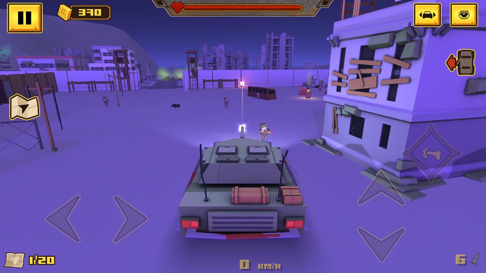 BLOCKAPOLYPSE™ - Zombie Shooter 1.08 Screenshot 2