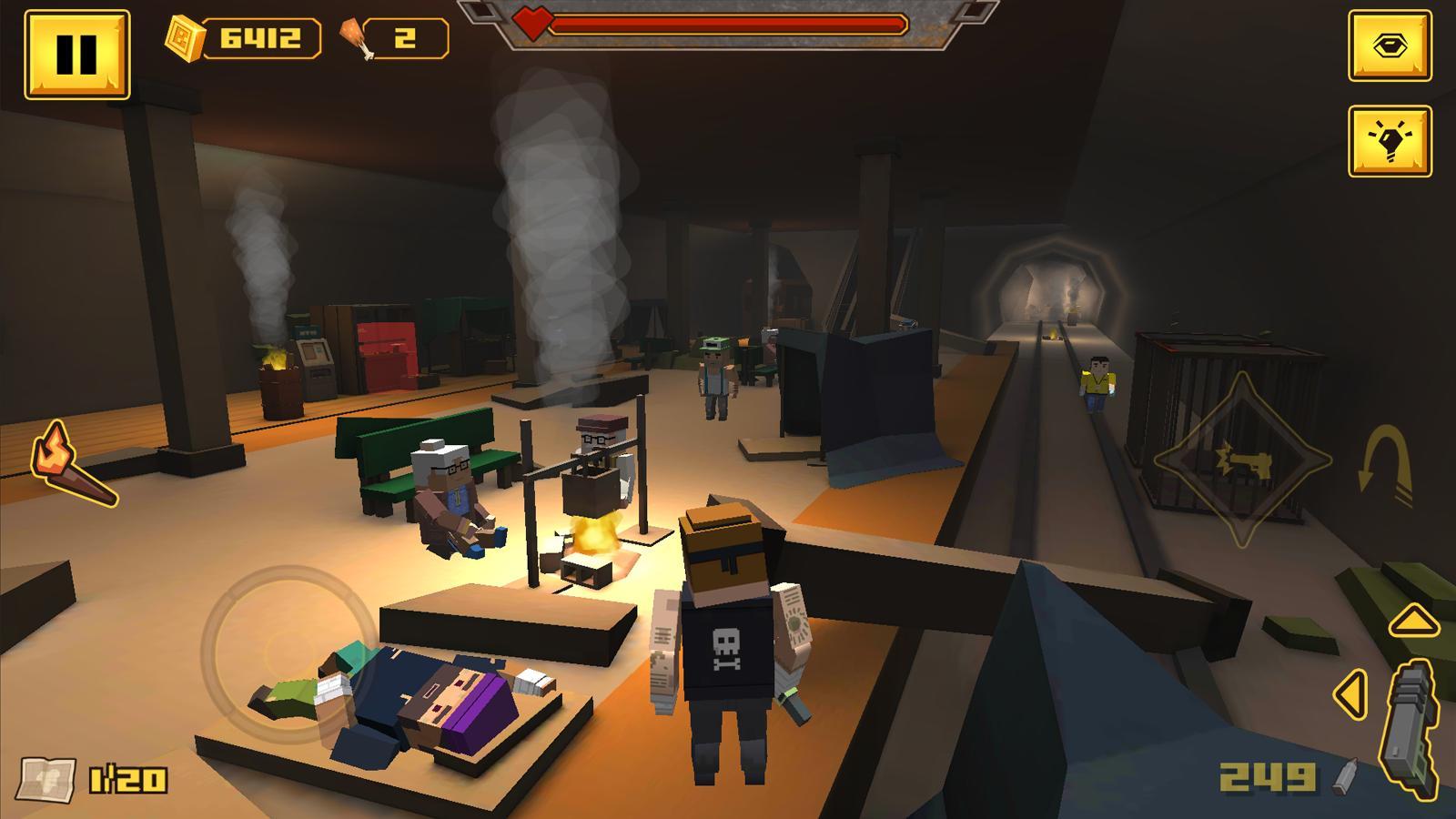 BLOCKAPOLYPSE™ - Zombie Shooter 1.08 Screenshot 3