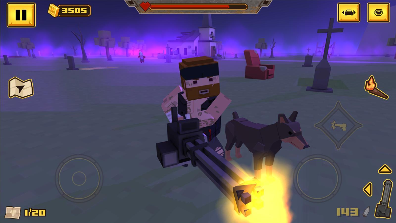 BLOCKAPOLYPSE™ - Zombie Shooter 1.08 Screenshot 4