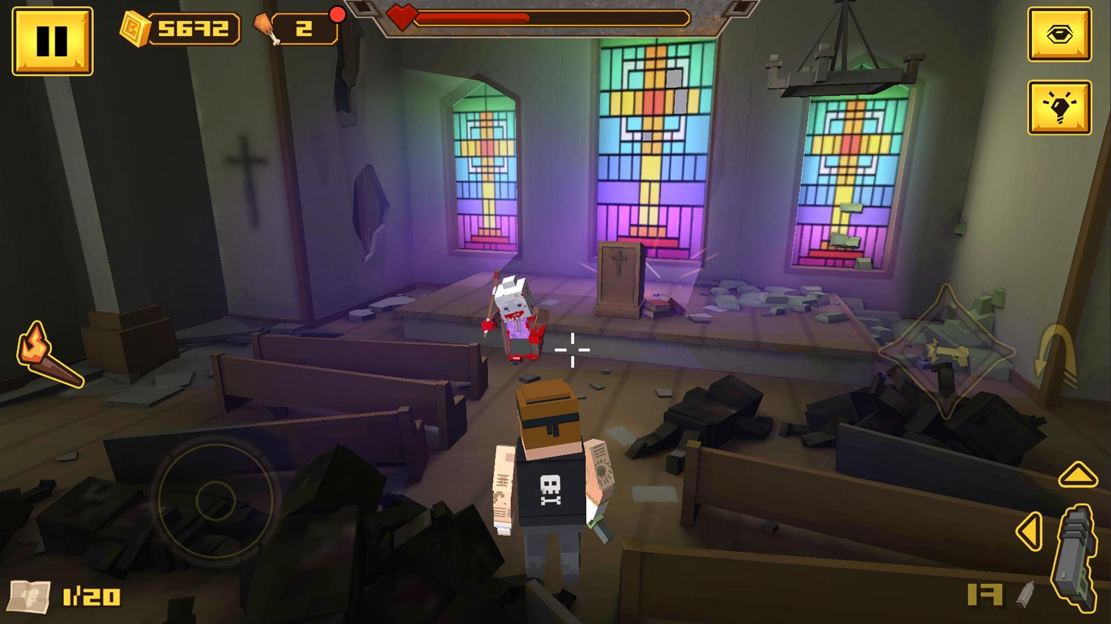 BLOCKAPOLYPSE™ - Zombie Shooter 1.08 Screenshot 5