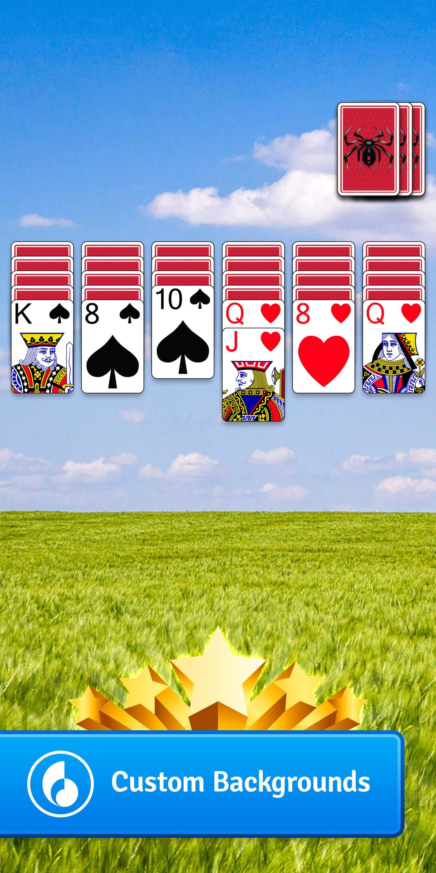 Spider Go Solitaire Card Game 1.2.0.382 Screenshot 2