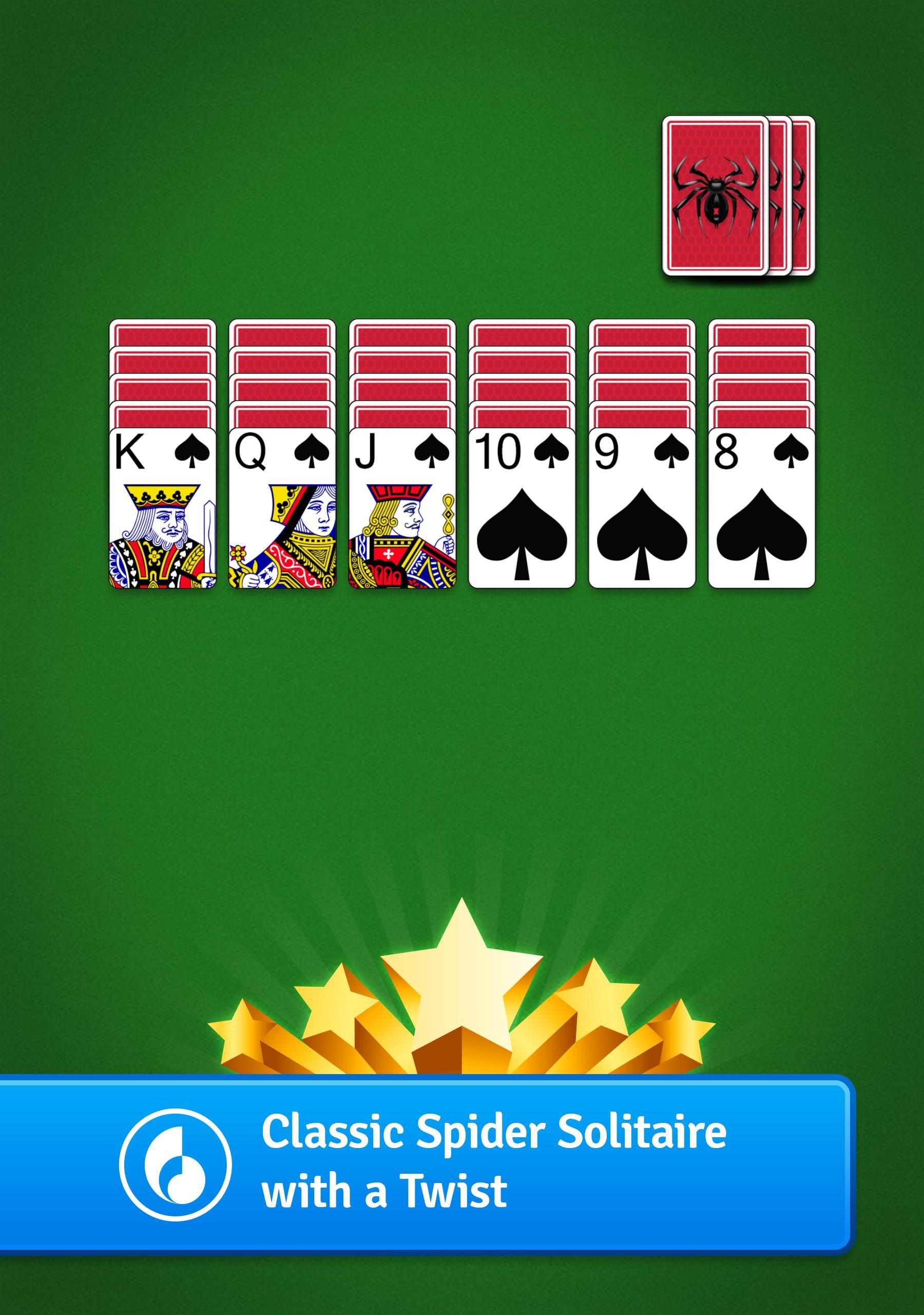Spider Go Solitaire Card Game 1.2.0.382 Screenshot 6