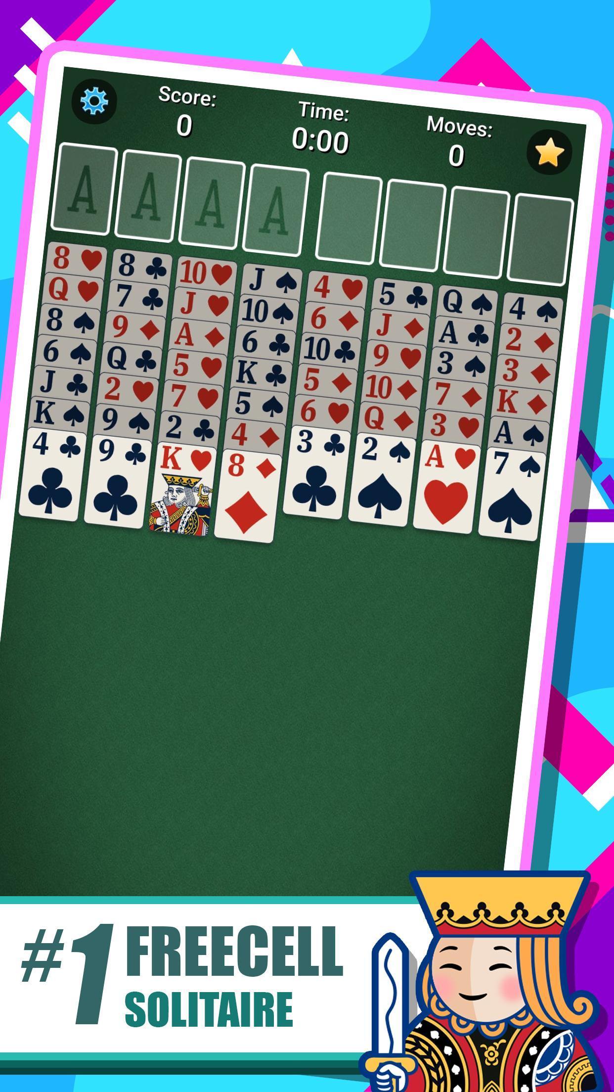 FreeCell Solitaire 5.4.0.3366 Screenshot 1