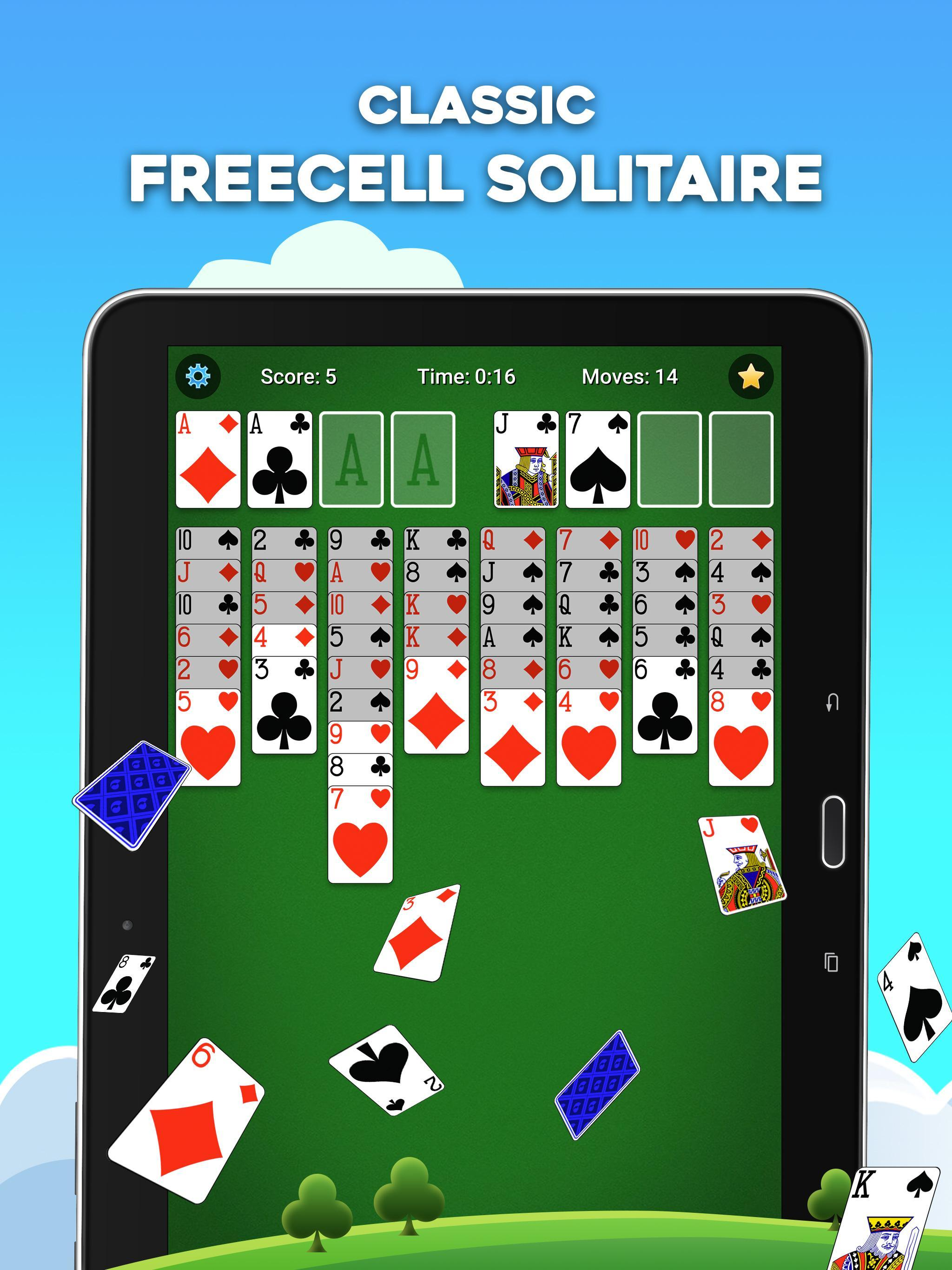 FreeCell Solitaire 5.4.0.3366 Screenshot 11