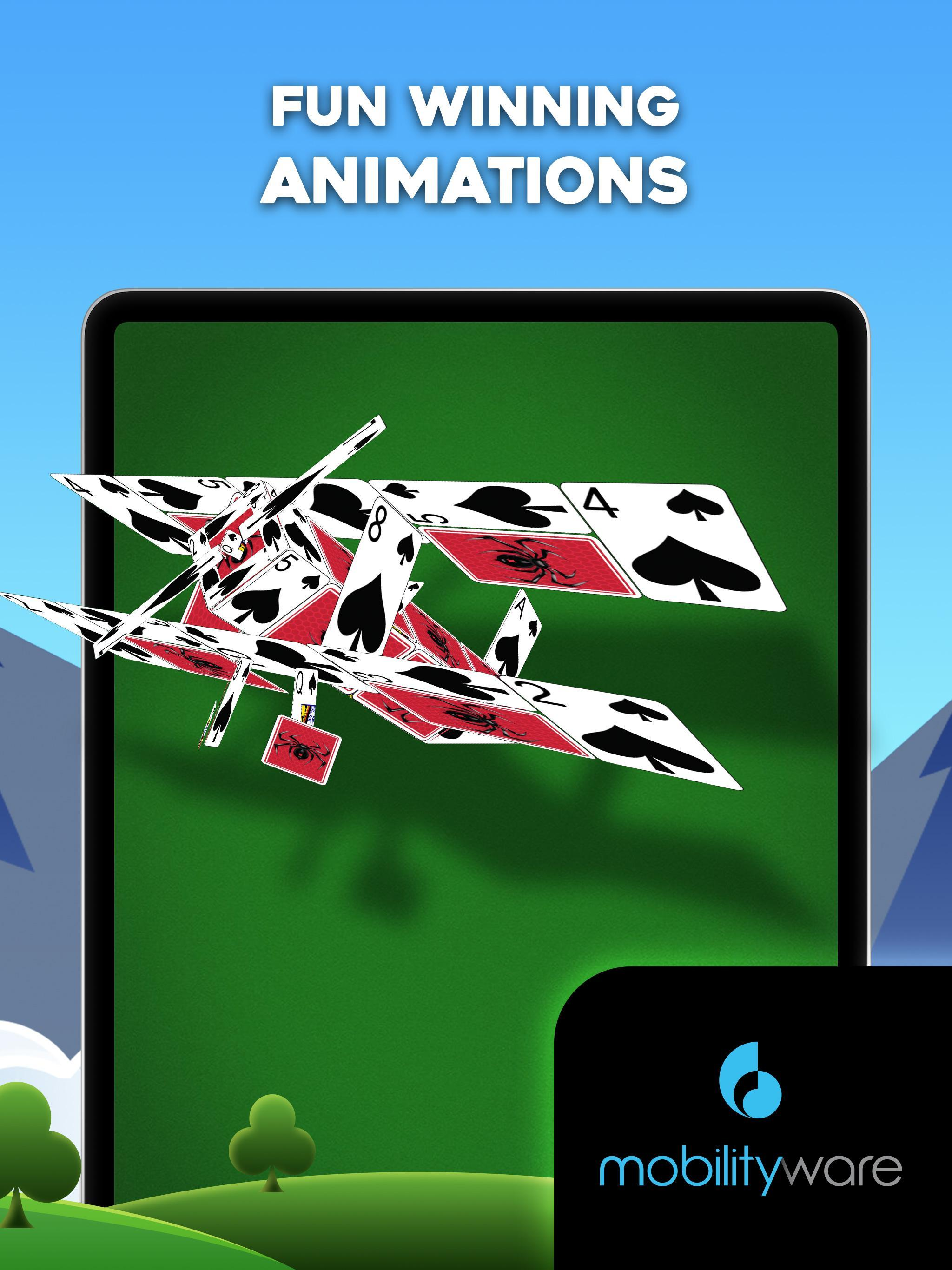Spider Solitaire 5.7.1.3543 Screenshot 22