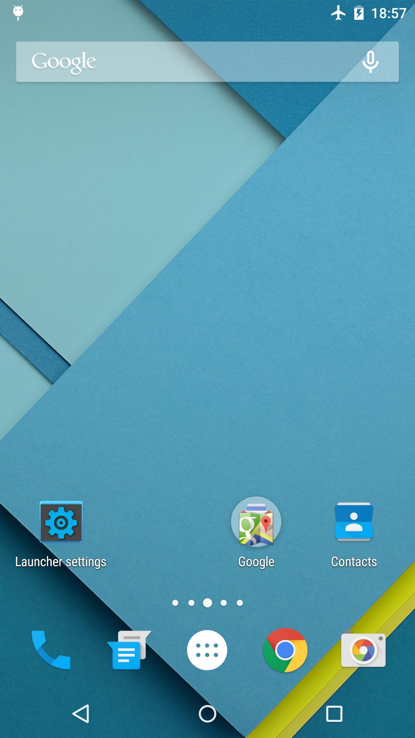 Lollipop Launcher 1.3.3 Screenshot 1