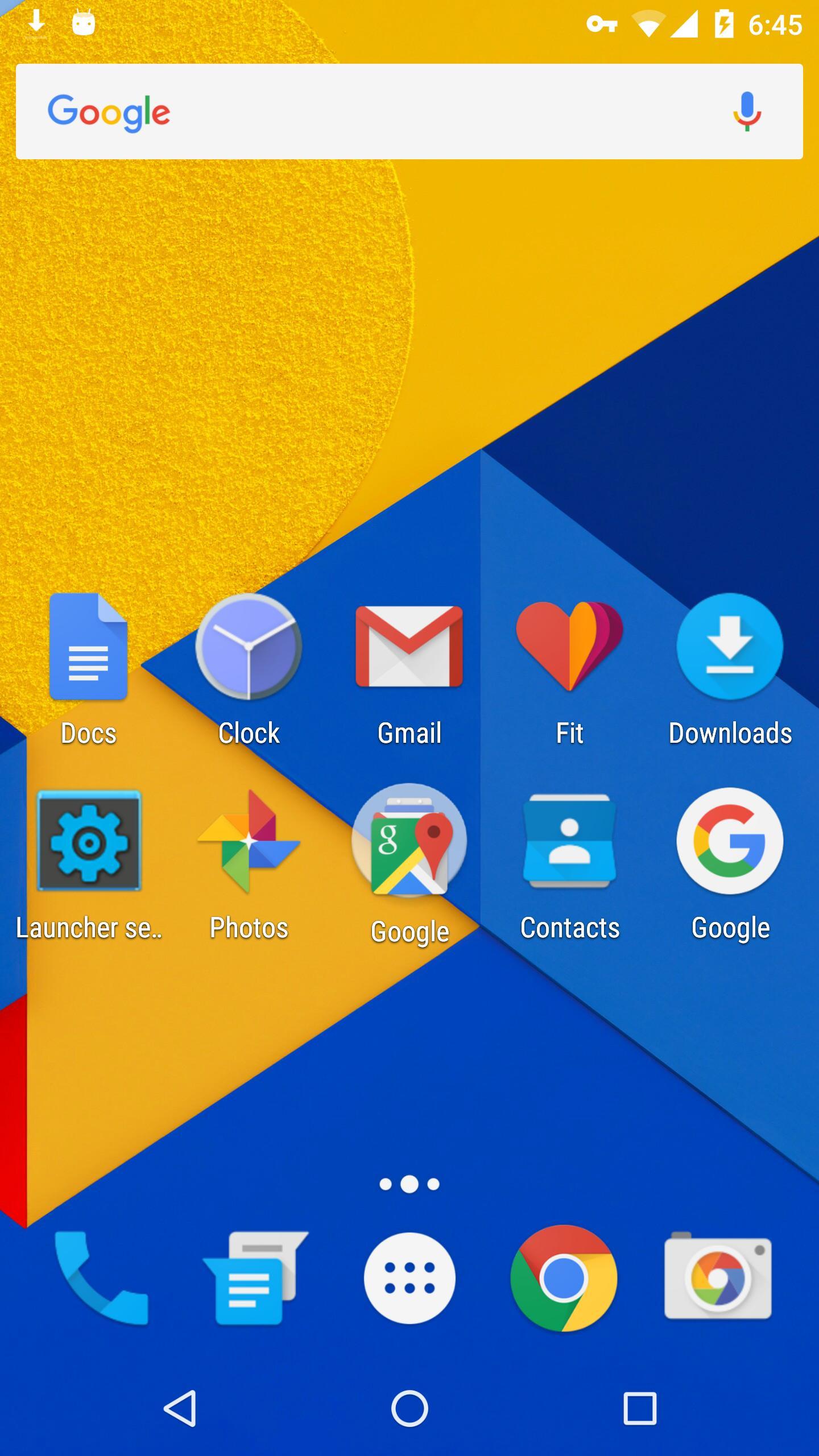Holo Launcher 3.1.2 Screenshot 1