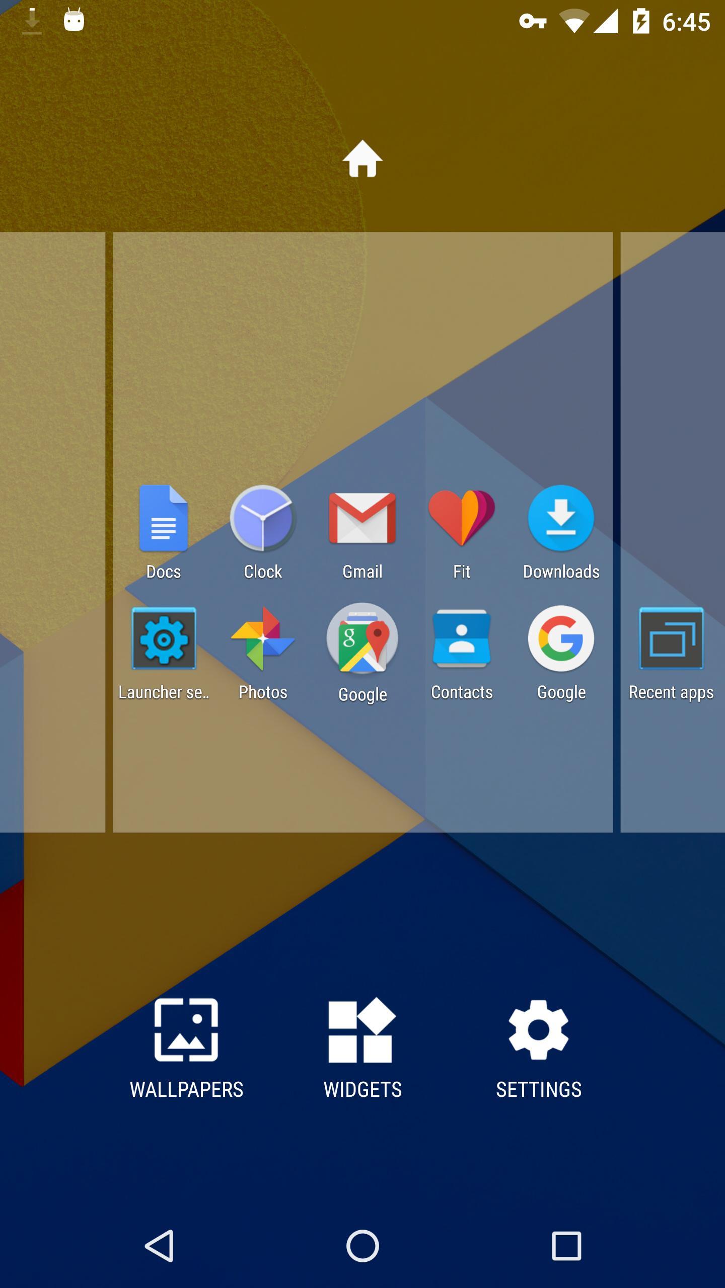 Holo Launcher 3.1.2 Screenshot 2