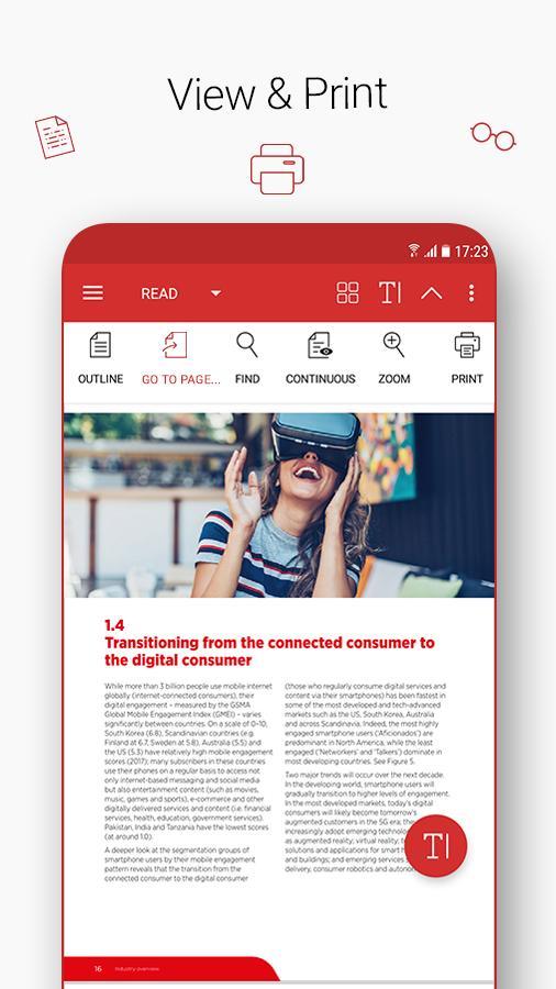 PDF Extra Scan, Edit, View, Fill, Sign, Convert 6.4.826 Screenshot 1