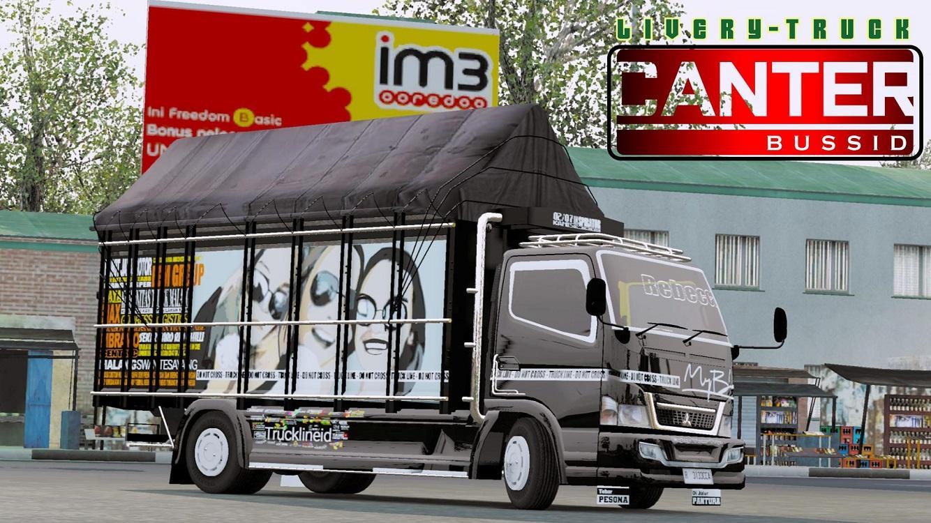 Spesial Mod Bussid Truck Canter Full Variasi 1.0 Screenshot 3