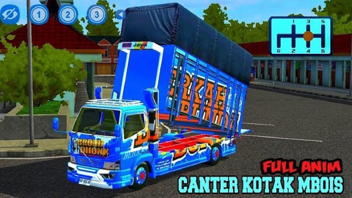 Spesial Mod Bussid Truck Canter Full Variasi 1.0 Screenshot 4