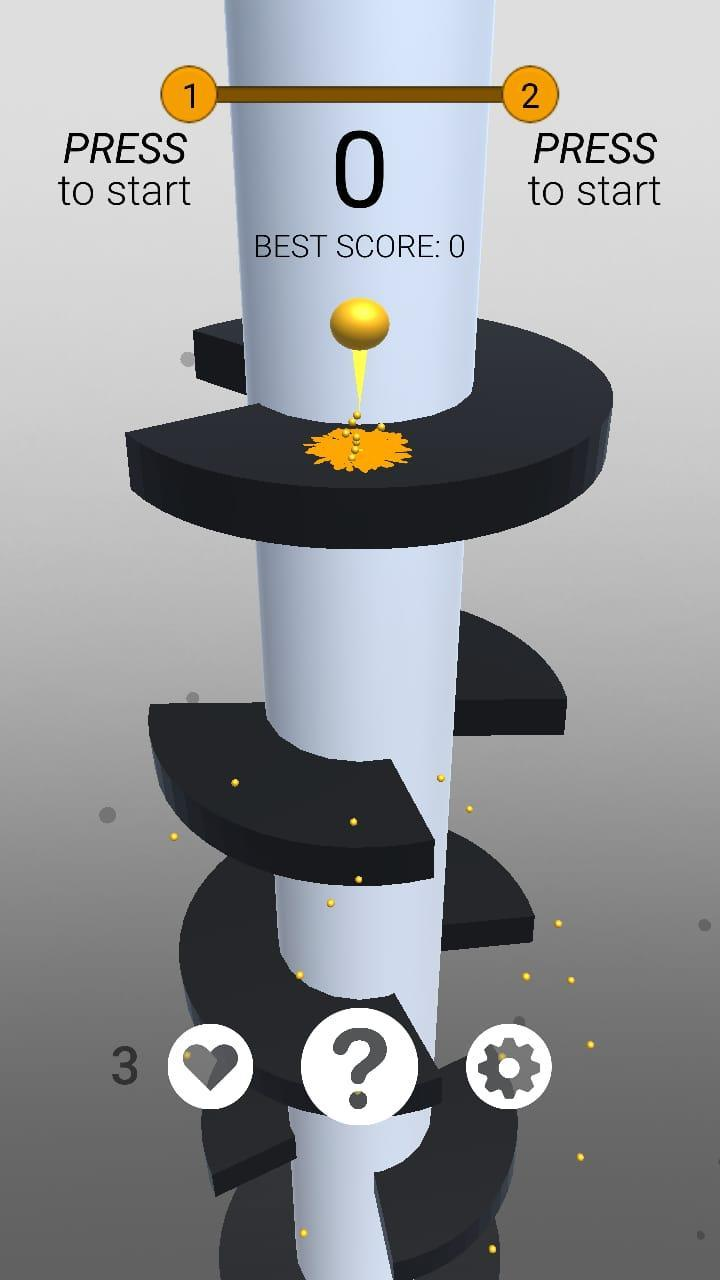 Ball Drop Jump, Dodge, Win 1.22 Screenshot 1