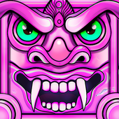 Scary Temple Final Run Lost Princess Running Game app icon