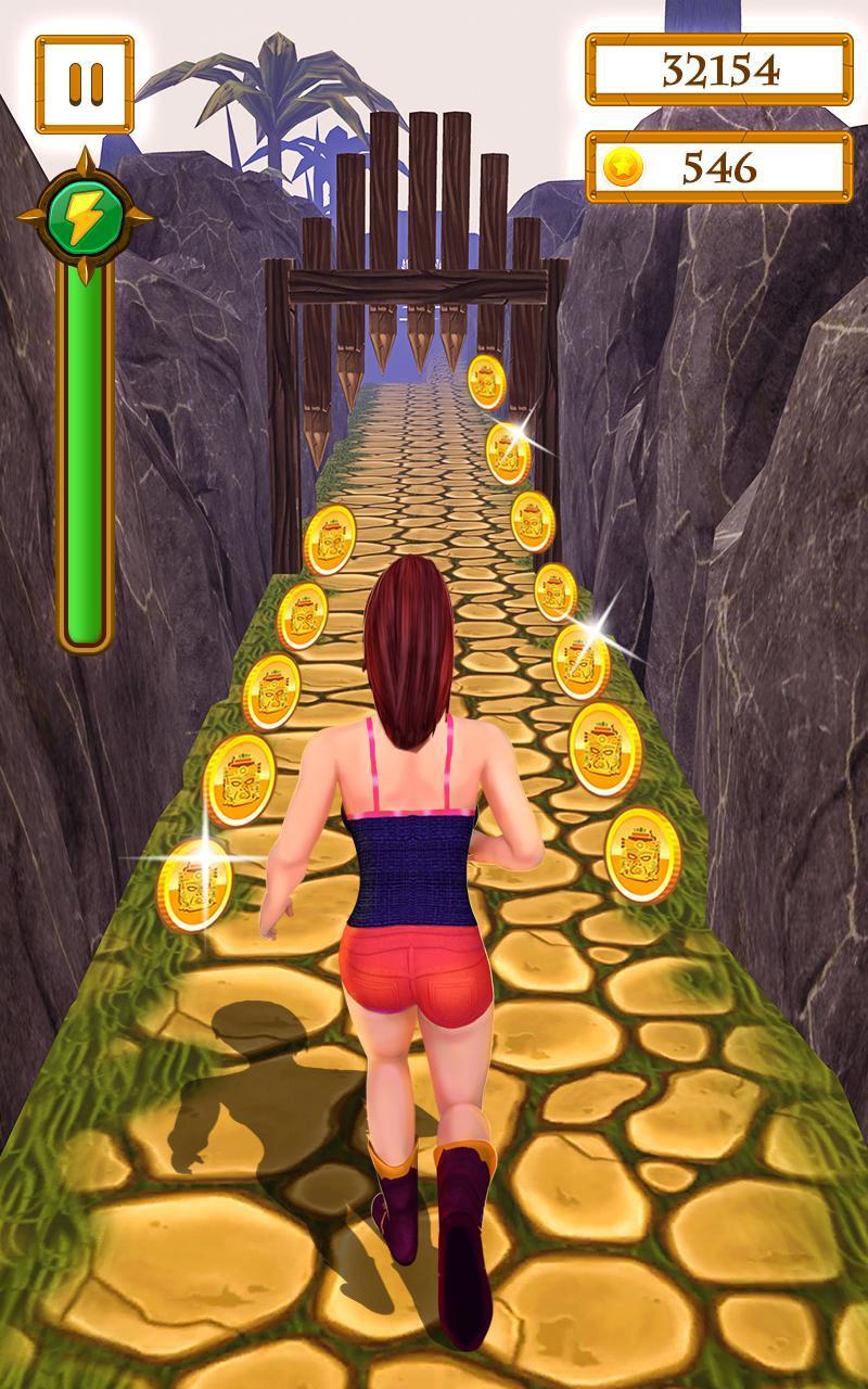 Scary Temple Final Run Lost Princess Running Game 2.9 Screenshot 13