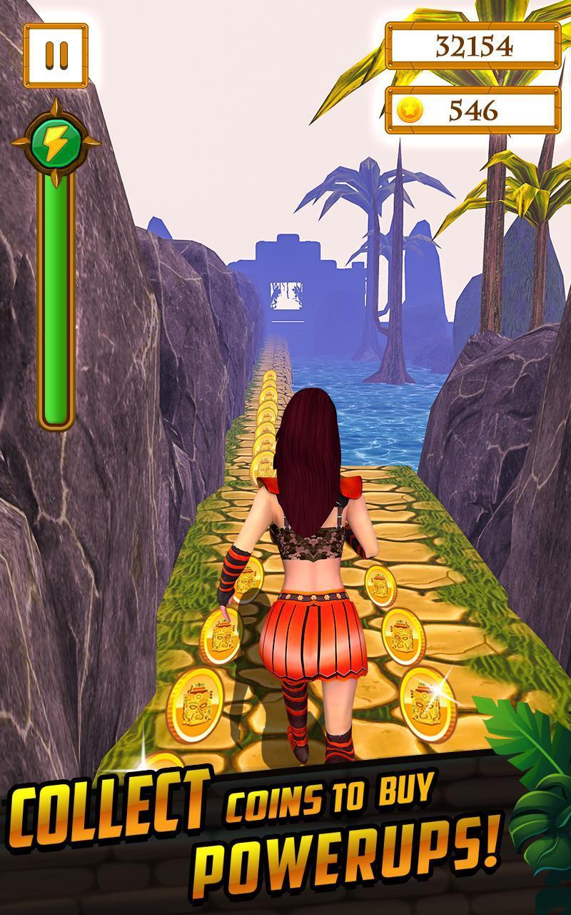 Scary Temple Final Run Lost Princess Running Game 2.9 Screenshot 14