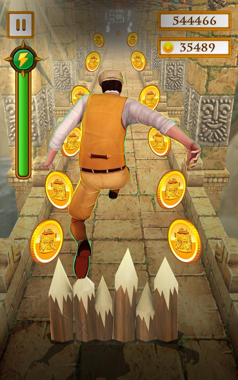 Scary Temple Final Run Lost Princess Running Game 2.9 Screenshot 2
