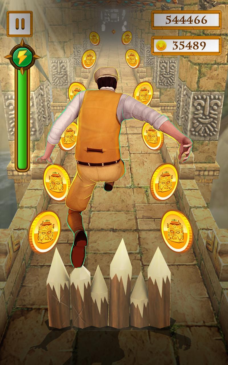 Scary Temple Final Run Lost Princess Running Game 2.9 Screenshot 2