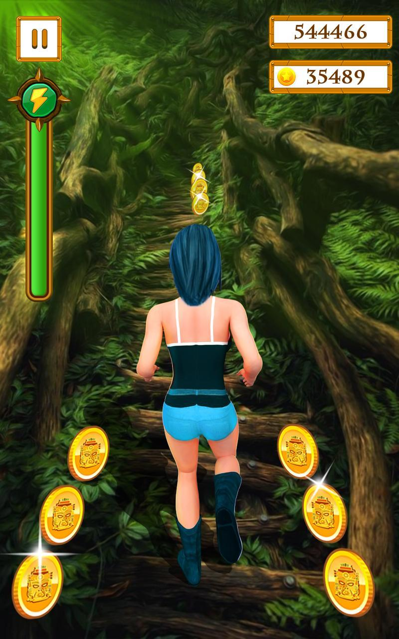 Scary Temple Final Run Lost Princess Running Game 2.9 Screenshot 3