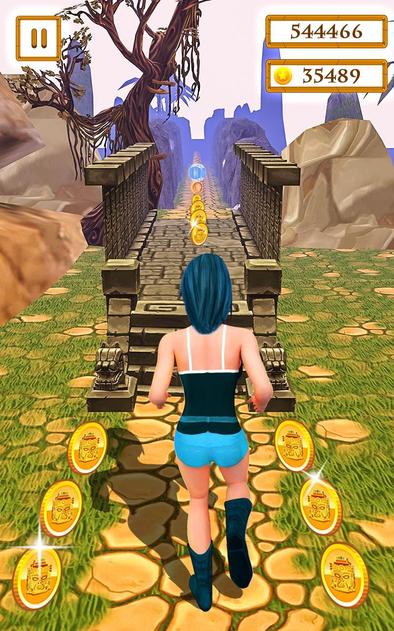Scary Temple Final Run Lost Princess Running Game 2.9 Screenshot 4