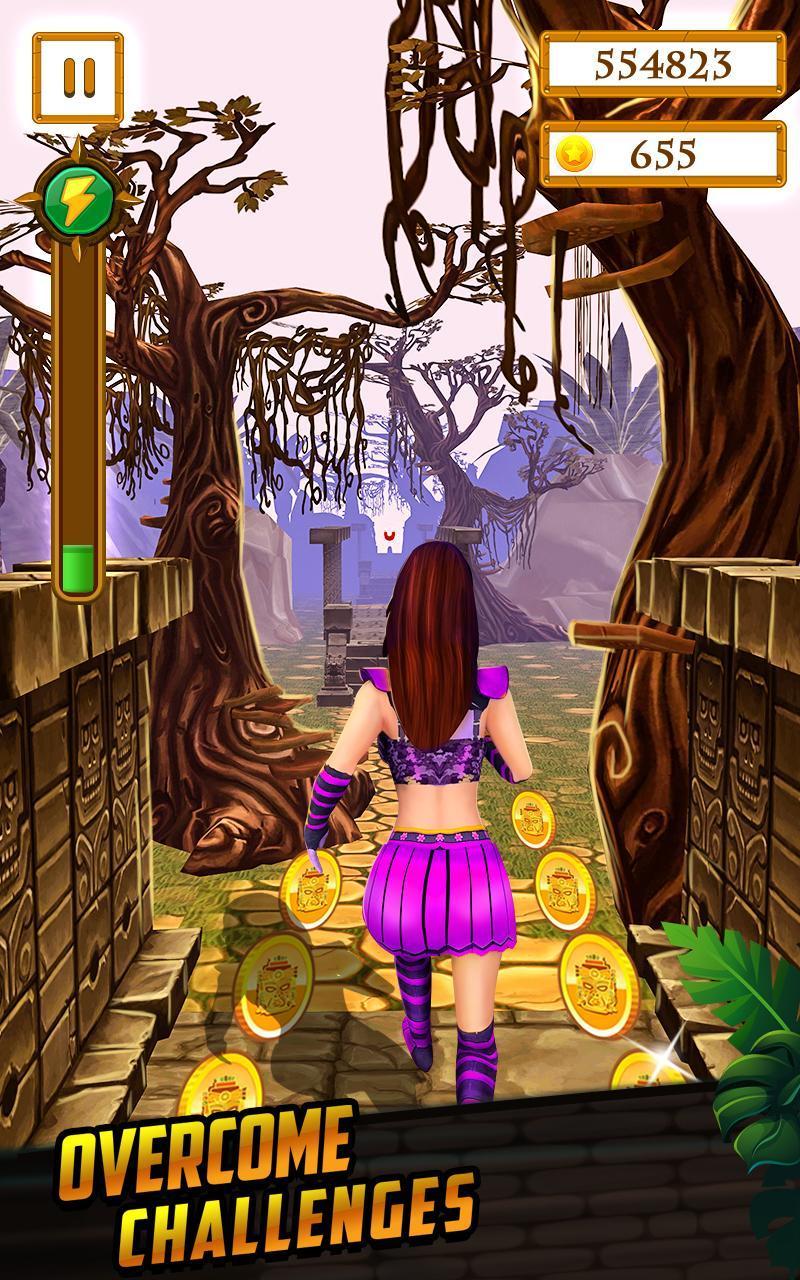 Scary Temple Final Run Lost Princess Running Game 2.9 Screenshot 5