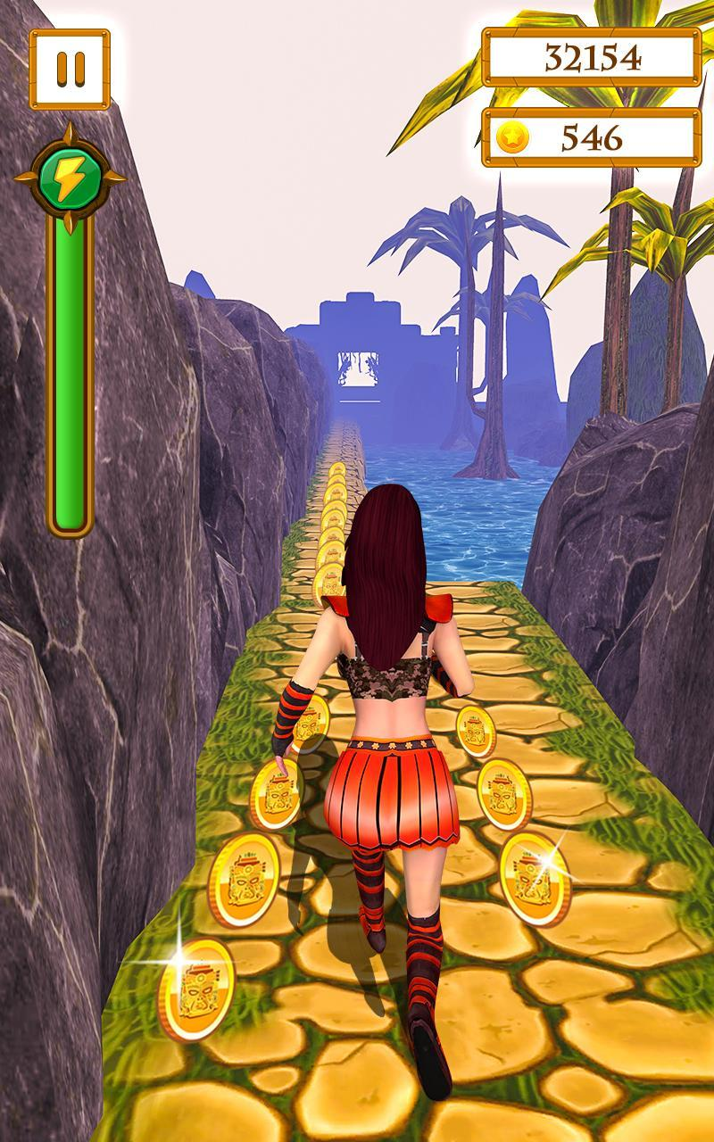 Scary Temple Final Run Lost Princess Running Game 2.9 Screenshot 6