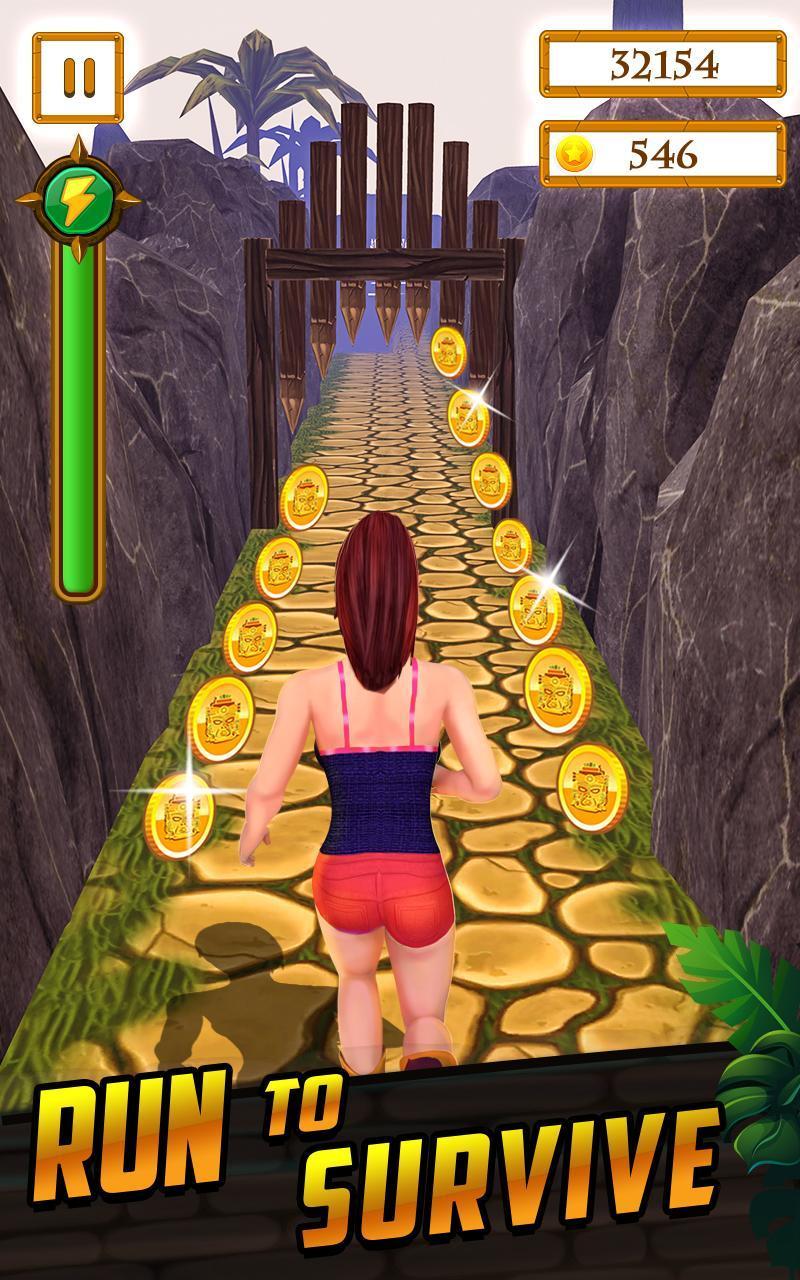 Scary Temple Final Run Lost Princess Running Game 2.9 Screenshot 7