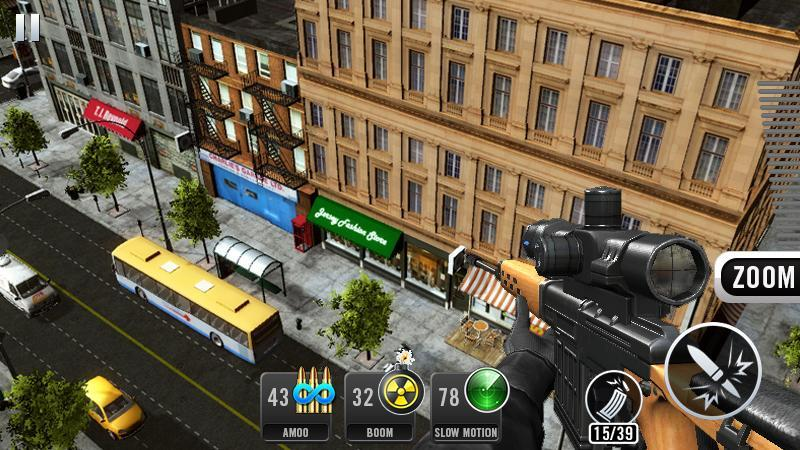 Sniper Shot 3D: Call of Snipers 1.5.0 Screenshot 4