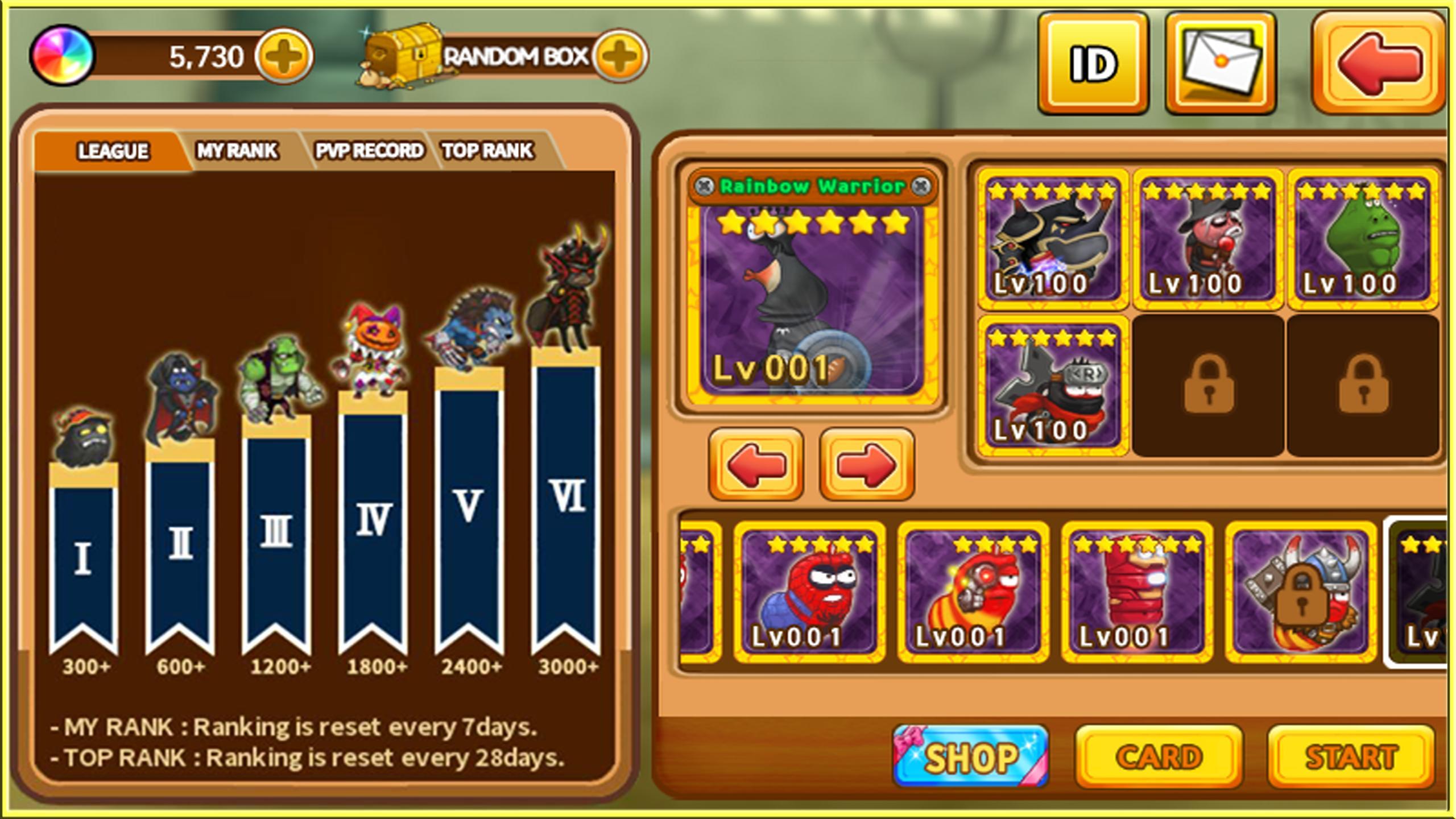 Larva Heroes: Battle League 2.4.6 Screenshot 10