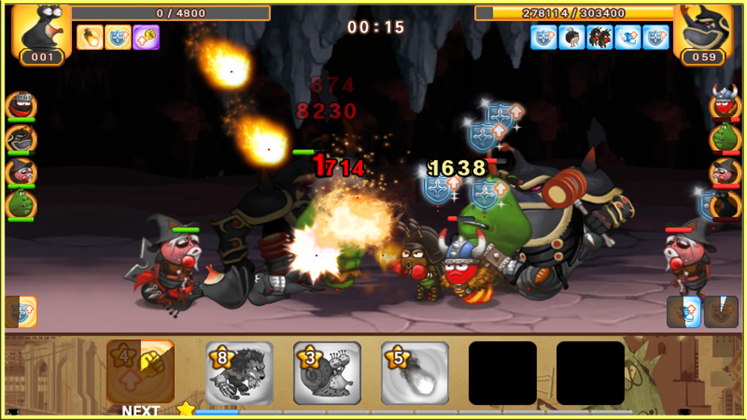Larva Heroes: Battle League 2.4.6 Screenshot 4