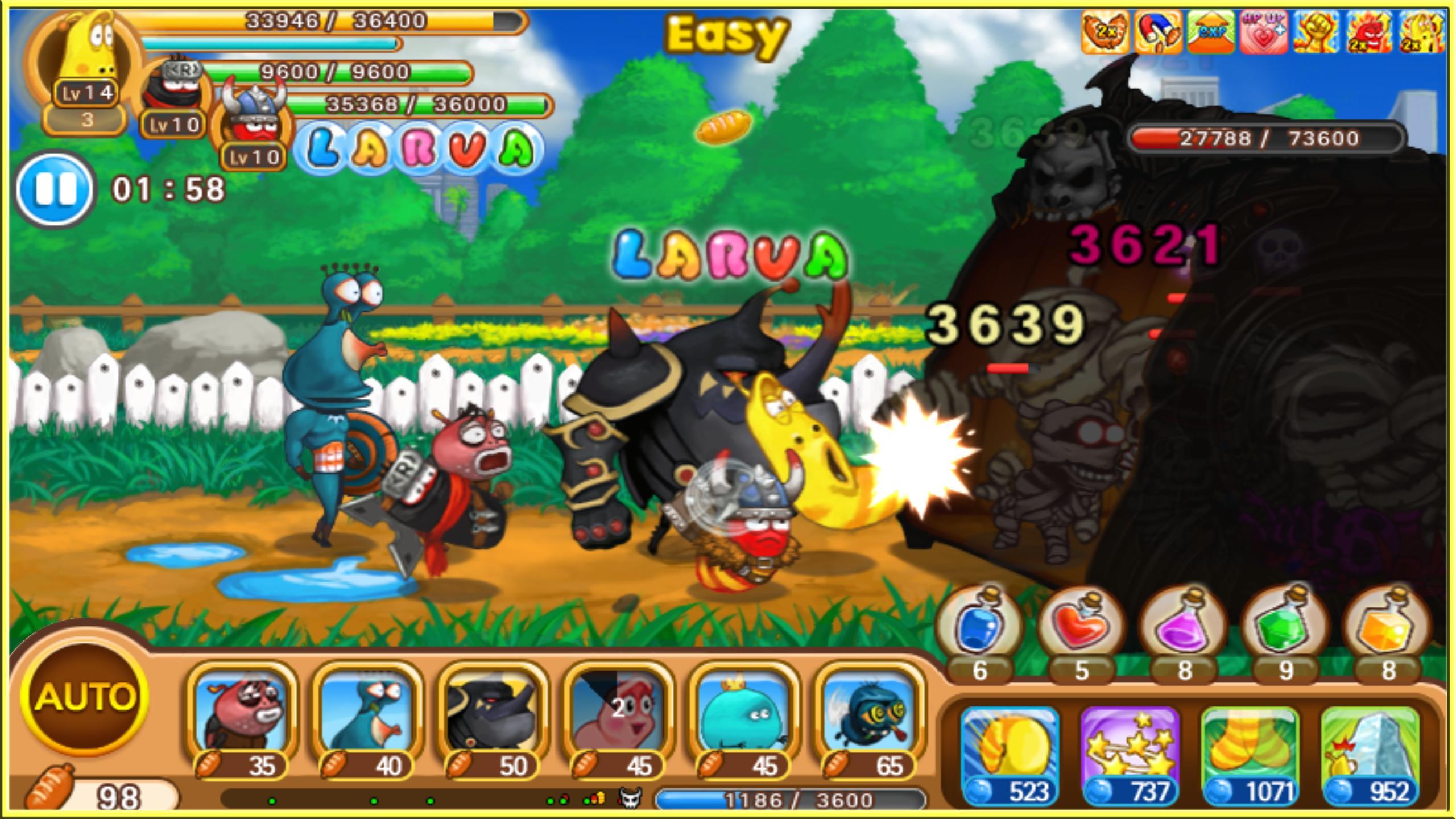 Larva Heroes: Battle League 2.4.6 Screenshot 7