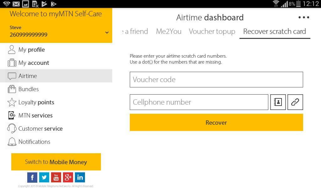 MyMTN 3.0.1 Screenshot 14