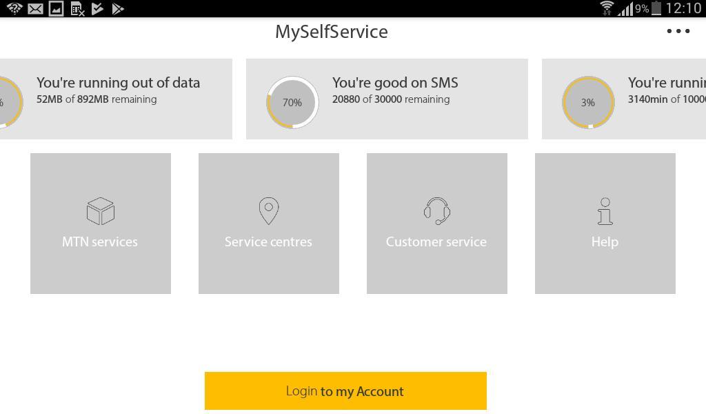 MyMTN 3.0.1 Screenshot 9