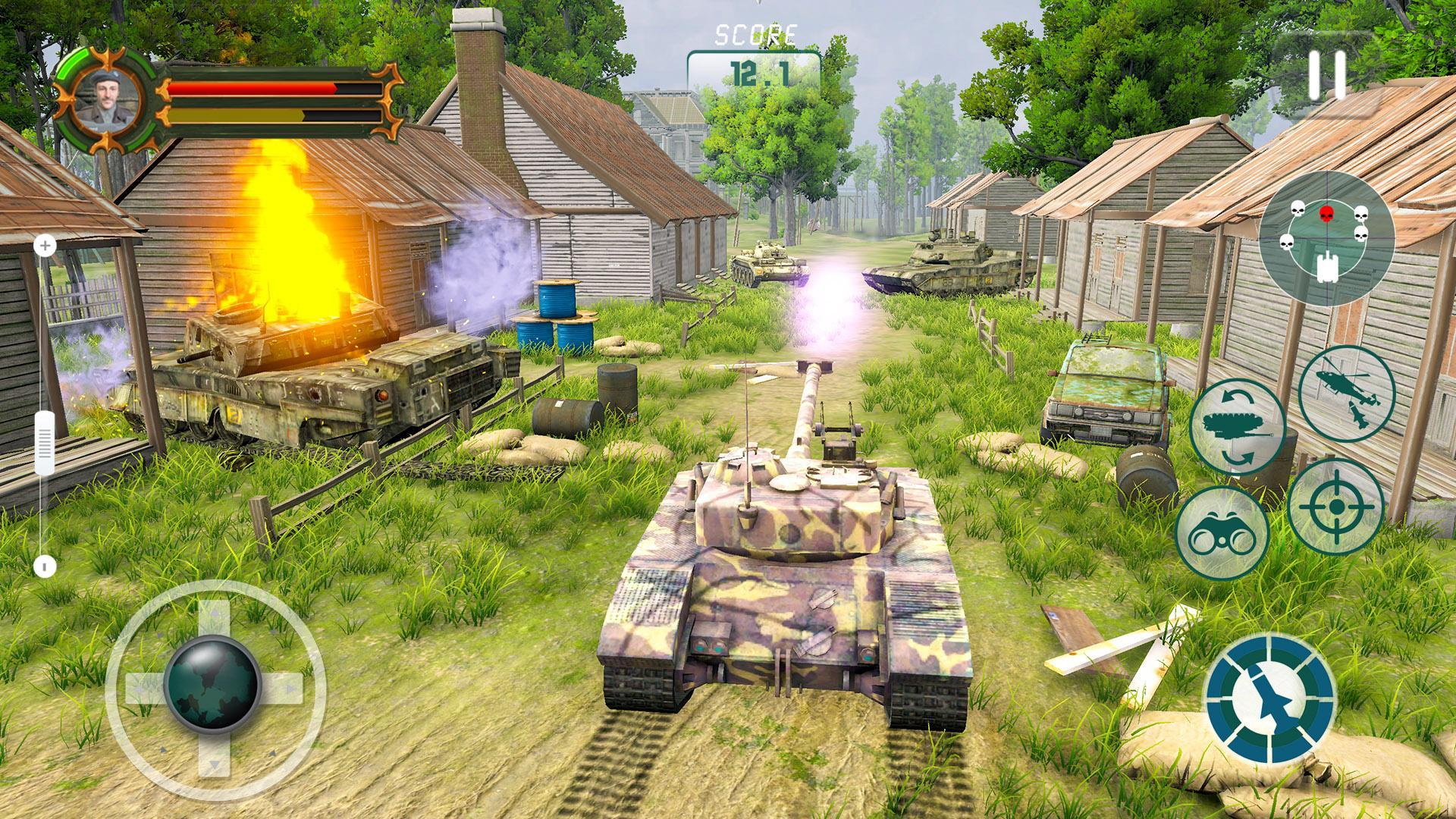 Battle Tank games 2020: Offline War Machines Games 1.6.1 Screenshot 1